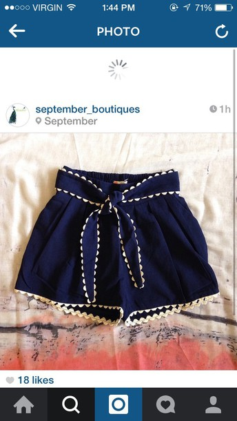 shorts blue shorts style High waisted shorts