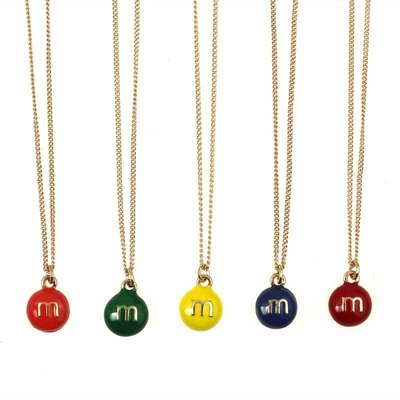 Retro M&M's Necklace · WANDERLUSTINY · Online Store Powered by Storenvy