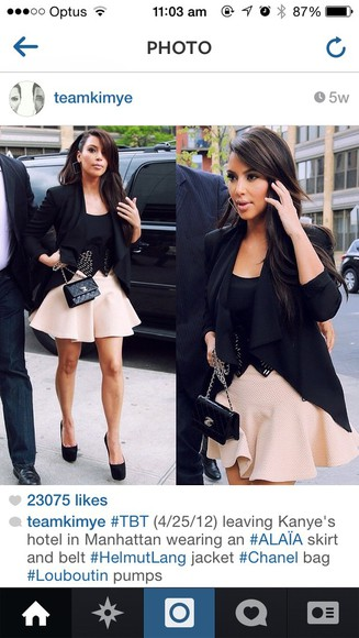 christian louboutin skirt kim kardashian kim kardashian , white bodycon , midi dress kayne jewels pumps black