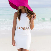 dress,cocktail,white,lace,beach,summer,amazinglace,date outfit,gradation