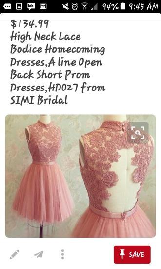 dress homecoming dress prom dress backless dress a line dress pink dress short dress