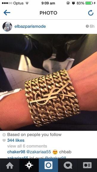 ysl jewels ysl bracelet
