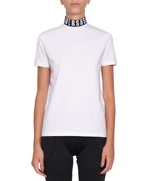 Versus t-shirt shirt cotton t-shirt t-shirt cotton top