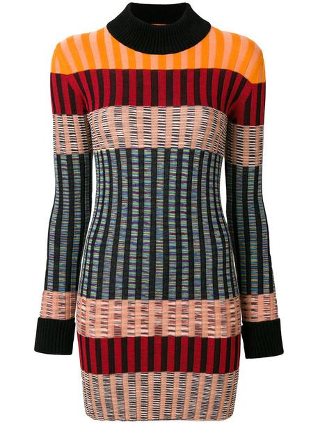 Missoni dress women cotton wool knit