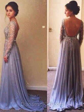 dress prom fashion style gown fancy open back elegant homecoming dress dressofgirl formal lilac beautiful sparkle vanessawu