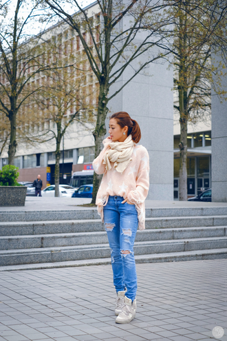 kryzuy blogger sweater jeans shoes bag