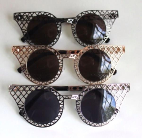 sunglasses black tank top cute fashion vintage glasses blue dress top shorts crop tops black bikini skirt cardigan sweater t-shirt shirt