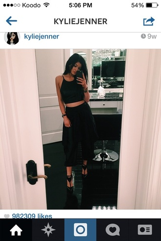 pants kardashians bottoms shoes kylie jenner