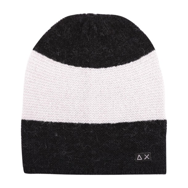 Sun 68 hat wool black grey