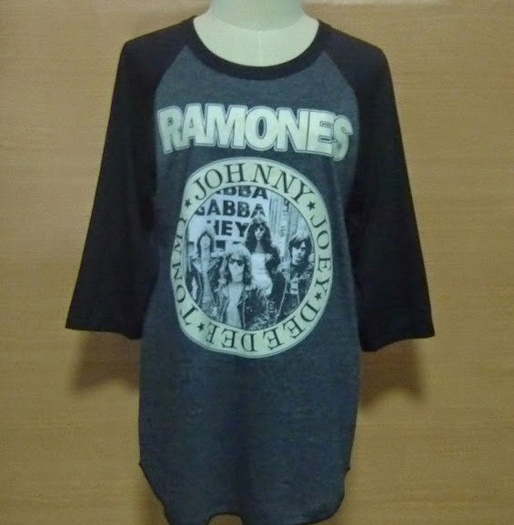 Shirt ramones rock tee hey ho lets go punk rock memorabilia gaglan vintage unworn unwashed unisex men women m l