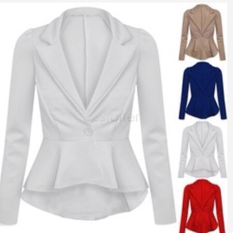 jacket white blazer white blazer white jacket  white pumps
