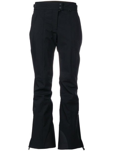 MONCLER GRENOBLE women spandex black pants