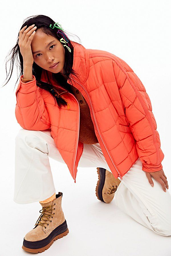 Pippa Packable Puffer Jacket by FP Movement at Free People