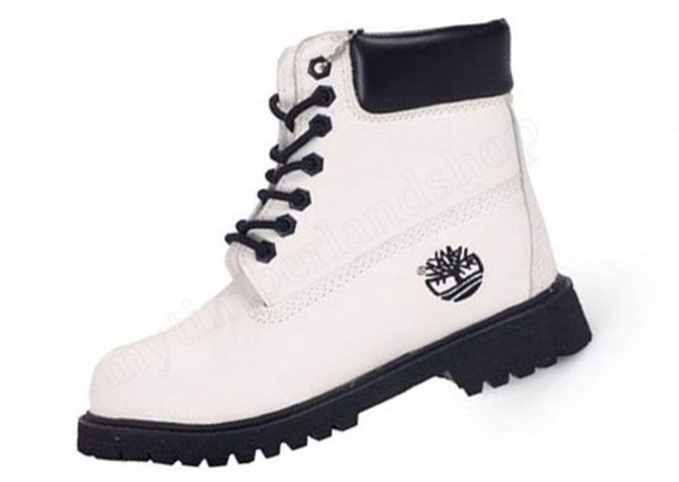 af27d6bff31f shoes boots black boots white black and white women timberland custom  timberlands