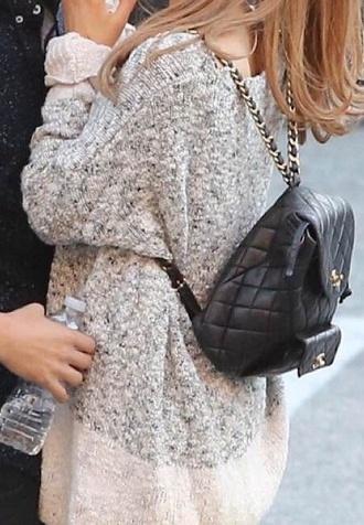 ariana grande sweater bag