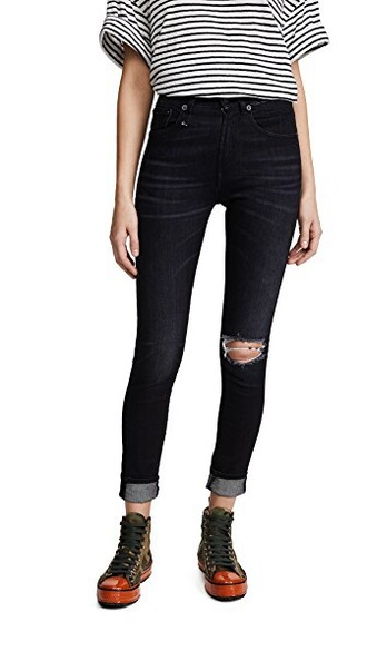 jeans skinny jeans high dark moon
