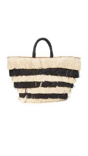 Kayu Pinata Tote - Black
