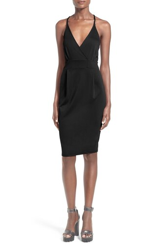 dress little black dress v neck v neck dress cocktail dress