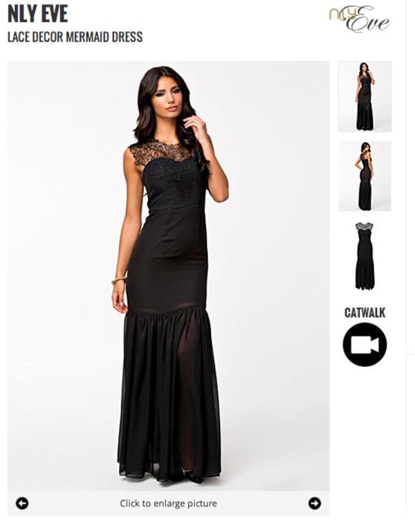 black dress black maxi dress maxi prom dress dress lace dress lace