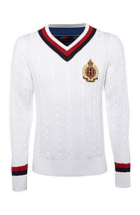 Tommy Hilfiger Molton Custom Fit Sweater White House Of