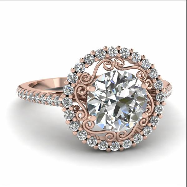jewels rose gold engagement ring rose gold diamond ring pink ring diamonds