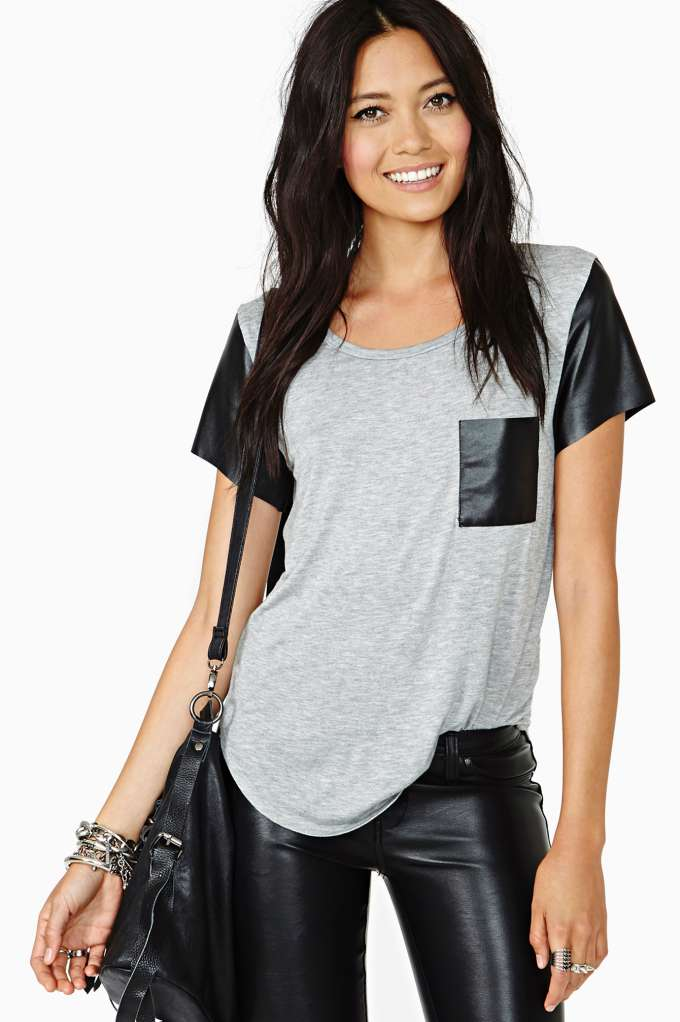 Rebel Way Tee in  Clothes Tops Tees at Nasty Gal