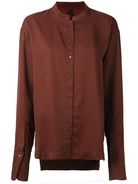 Ilaria Nistri shirt women brown top
