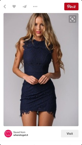 dress lace blue dress lace dress