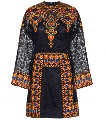 mytheresa.com -  Embroidered guipure lace dress - Short - Dresses - Clothing - Luxury Fashion for Women / Designer clothing, shoes, bags