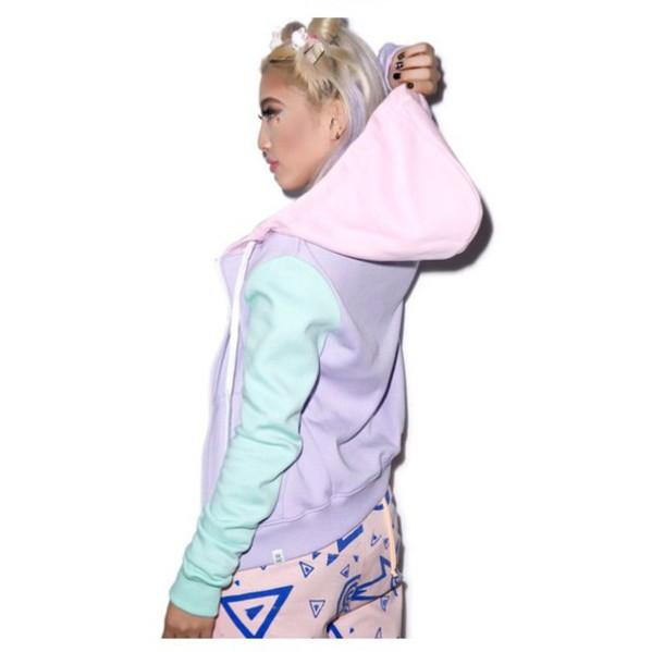 sweater pastel blue pastel sweater pastel pink pastel purple