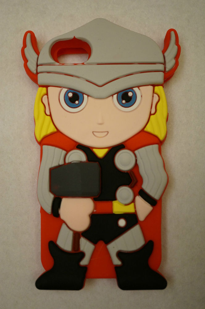 3D Marvel Superhero Thor Soft Phone Case Cover Screen Guard for Apple iPhone 5 | eBay