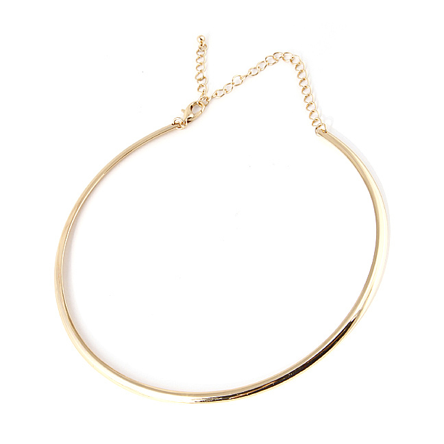 Gold Collar Choker Necklace