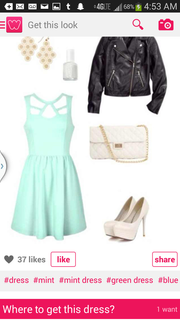 dress mint dress mint short dress