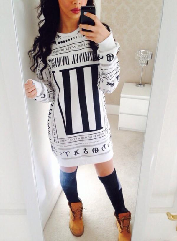 ... black jumper long dress style black girls killin it soft ghetto shirt