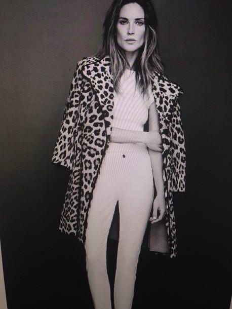 coat leopard print leopard print