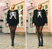 sweater,romwe,hoodie,black,print,romwe hoodie
