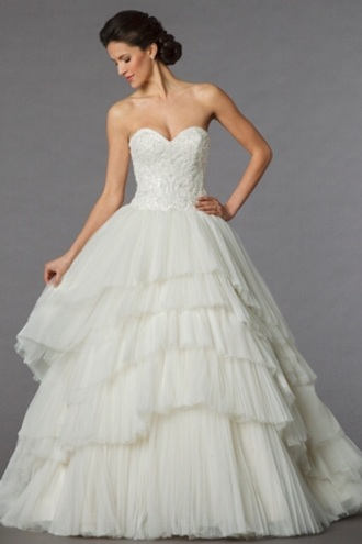 dress wedding tulle skirt vintage ivory vintage dress gown wedding dress beautiful ball gowns