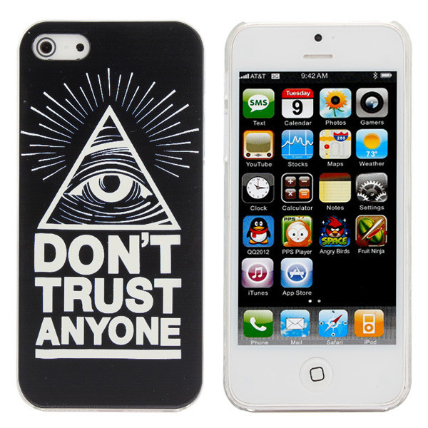 Don't Trust Phone Case (iPhone 5 5s) | Outfit Made
