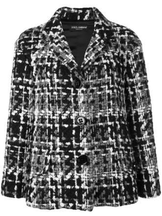 jacket women cotton black silk wool