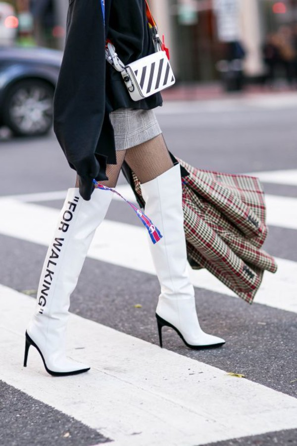 b66ec6aa6be shoes tumblr boots white boots over the knee boots over the knee high heels  boots.