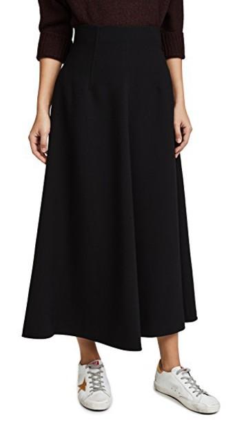 Elizabeth and James skirt midi skirt midi black