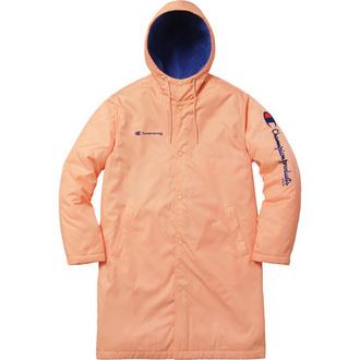 coat peach pink champion jacket parka