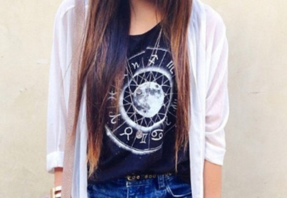 planet galaxy print planets space grunge moon zodiac horoscope zodiac signs graphic graphic tee astrology astro astrological moon shirt black shirt white shirt simple signs celestial