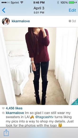 sweater long sleeves shirt