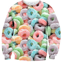 Cereal Sweater – Shelfies - Outrageous Sweaters