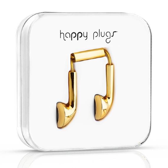 18 carat gold headphones from happy plugs