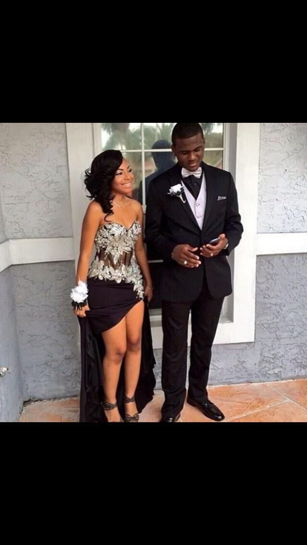 dope black prom dress homecoming dress homecoming dress