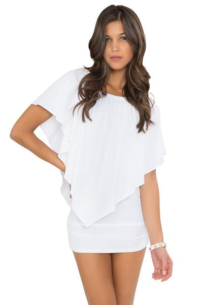 Luli Fama White Party Dress