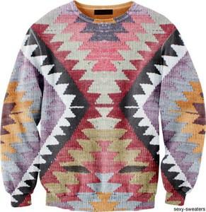 aztec print tribal pattern