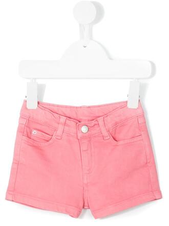 shorts spandex cotton purple pink